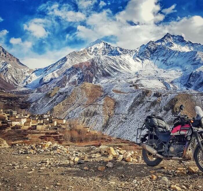 Adventure Motorcycles ride to Upper Mustang -Lho Manthang Nepal