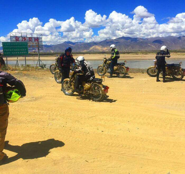Tibet Motorcycle tour Circuit