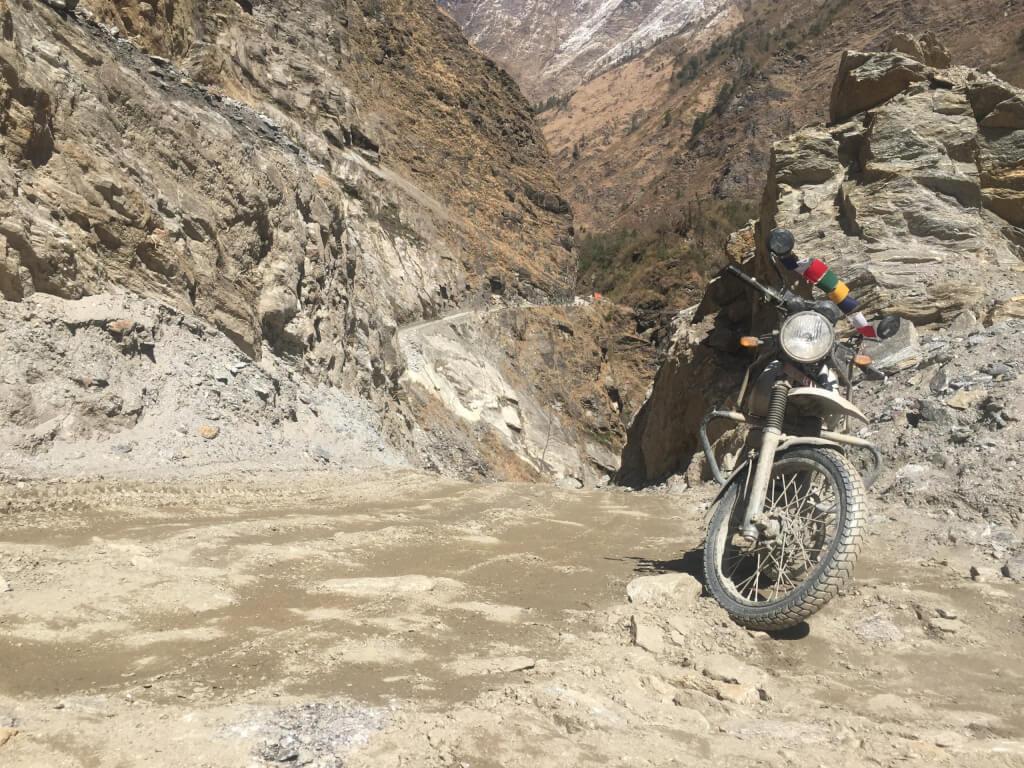road to mustang, Mustang motorbike tour