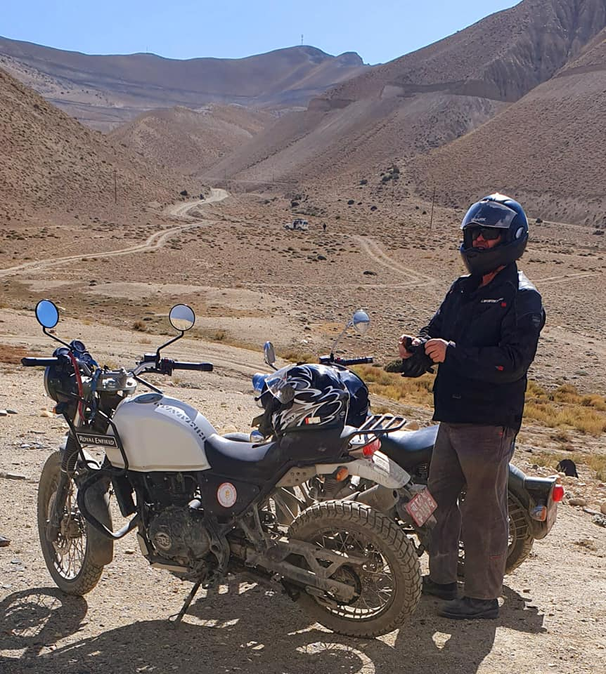 Highway to Upper Mustang