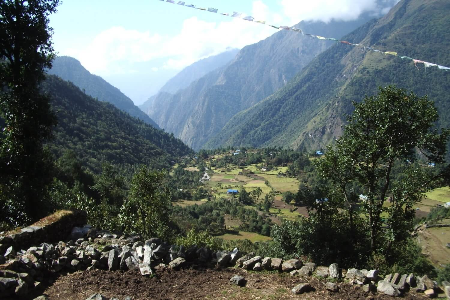 Everest Valley view